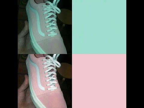 Are Both Of These Shoes Pink And White