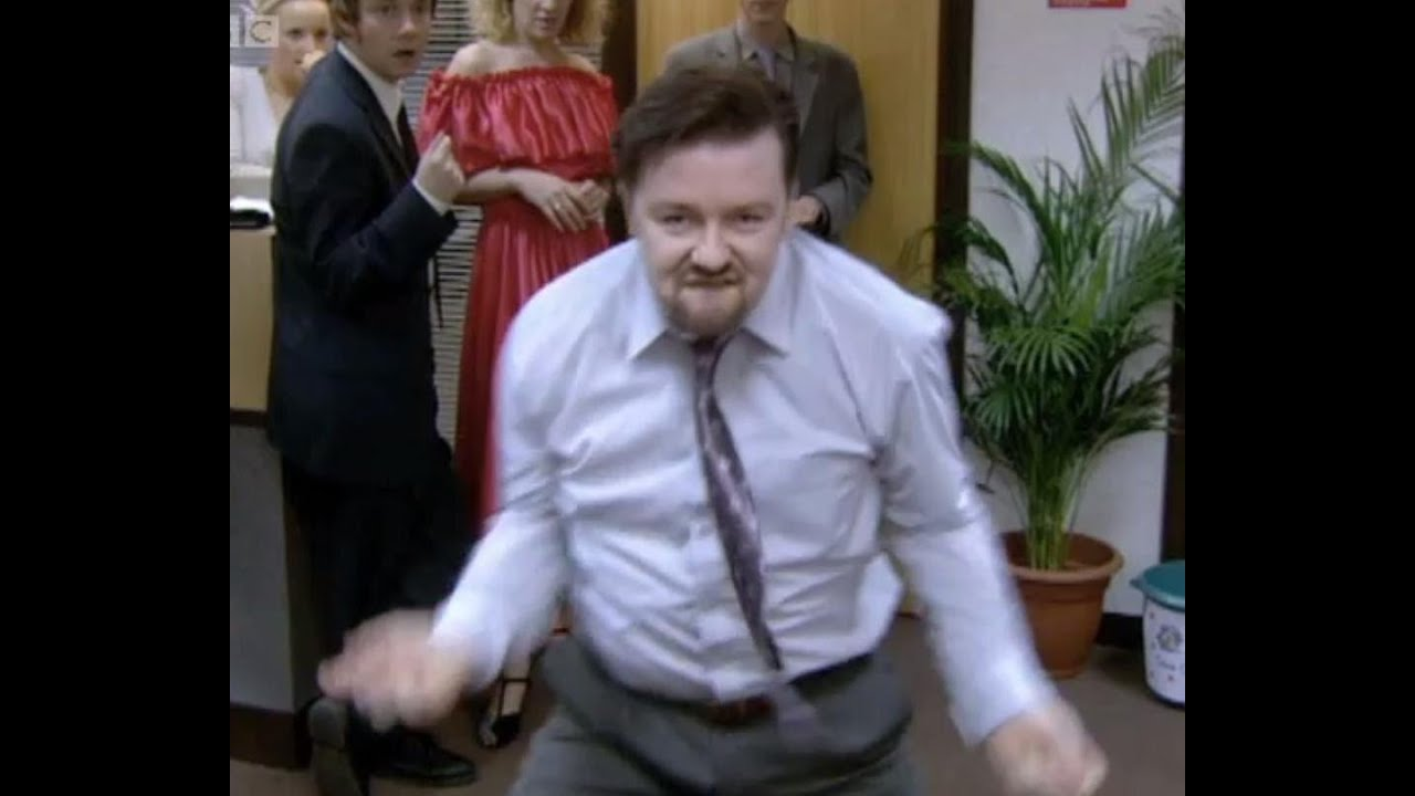 THE David Brent Dance - The Office - BBC - YouTube