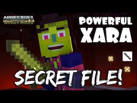 POWERFUL XARA BEFORE SHE LOST HER POWER!!! Minecraft Story Mode Season 2 Episode 5
