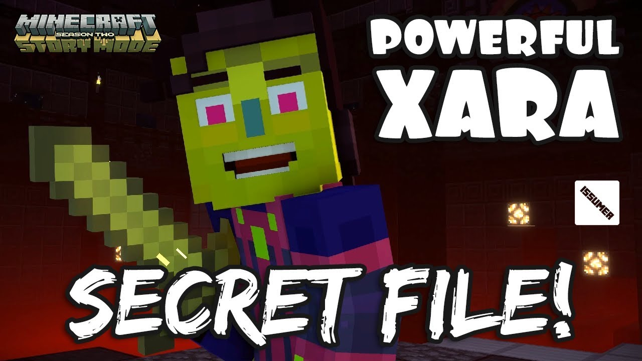 powerful xara before she lost her power    minecraft story