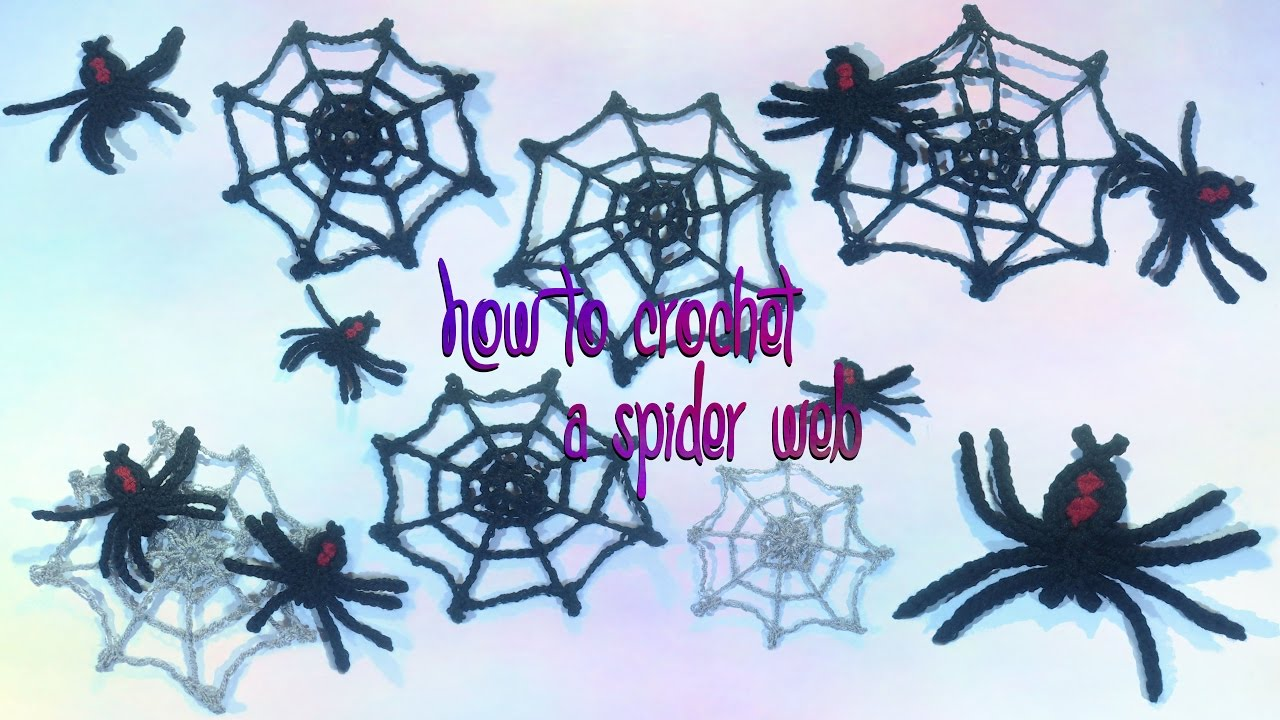 How to crochet a spider web youtube how to crochet a spider web bankloansurffo Images