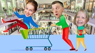 ЧТО МЫ КУПИЛИ в САМОМ ОГРОМНОМ торговом центре в МИРЕ? кто напал на ДАНЮ? семейный влог