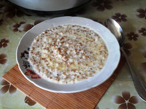 Как готовить гречневую кашу в мультиварке на молоке