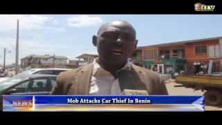Mob attacks car thief in Benin