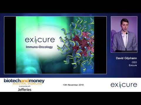 Exicure Presentation - Biotech and Money