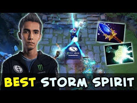 SumaiL best Storm Spirit in Dota  epic Comeback EG vs NP