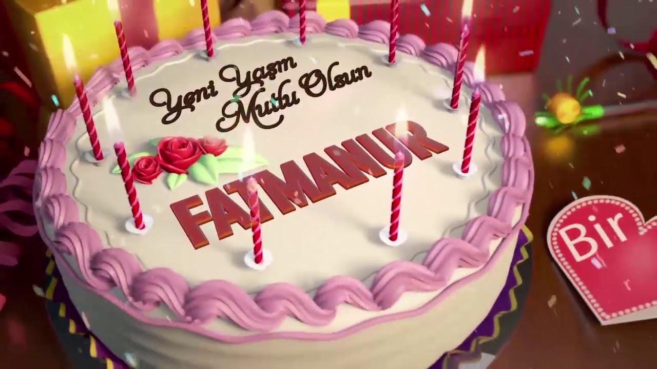 İyi ki Doğdun FATMA :) #2# *happy birthday Fatma* Made in Turkey :) 🎂 *ABİDİN KUKLA*
