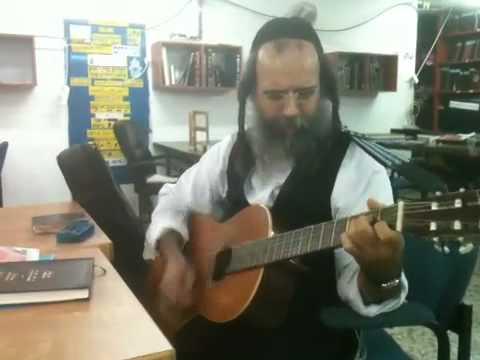 רוד סטיוארט בהלם מהביצוע - קאבר יהודי  rabbi nachman of breslov