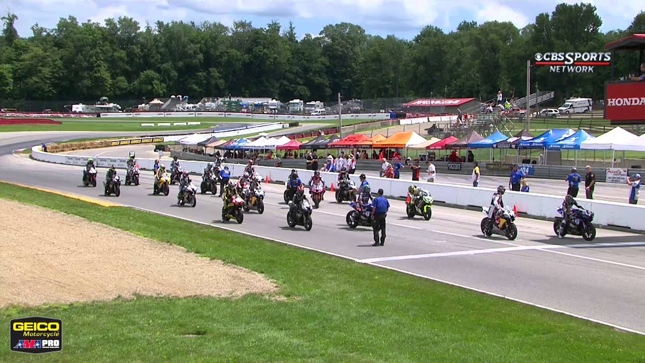 Mid-Ohio Sports Car Course >> AMA Pro GoPro Daytona SportBike FULL Race 2 (HD) - Mid ...