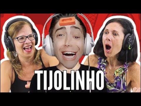 IDOSOS REAGEM A ALAN - TIJOLINHO! - MELHORES CLIPES