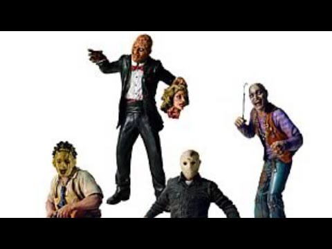 Horror Figure Collection Overview, NECA, Diamond Select, Universal Monsters, Freddy, Jason Voorhees