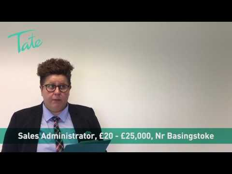 Sales Administrator role, Basingstoke