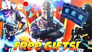 FORTNITE LIVE PS4!*GIFTING BATTLE PASS*
