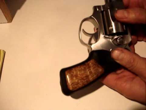 Ruger Sp101 Custom Diy Grip Insert