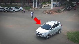 Top 15 Scary Videos Caught on Traffic Camera