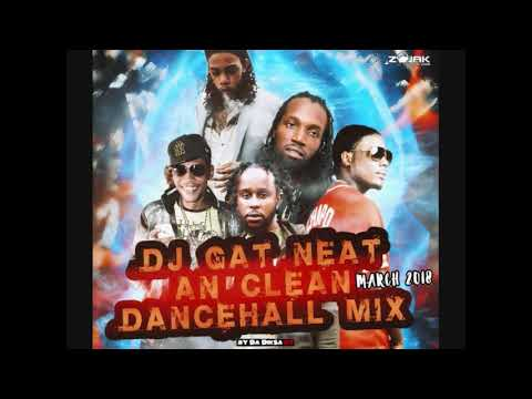 NEW CLEAN MIX DJ GAT NEAT & CLEAN DANCEHALL MIX MARCH 2018 FT MASICKA/POPCAAN/ALKALINE 1876899-5643