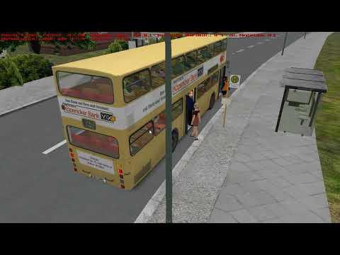 Omsi bus simulator MAN SD200 D85 MODERN MOD LINE 76E GRUNDORF |