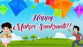 Happy Makar Sankranti 2020 Special WhatsApp Status Video // Makar Sankranti Video Status 2020
