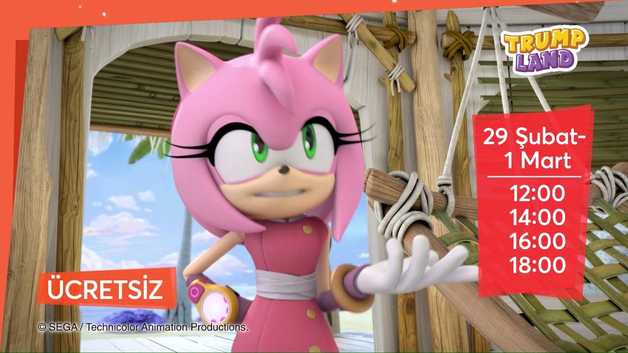 Sonic Boom Sahne Şovu