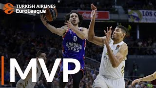 Turkish Airlines EuroLeague Regular Season Round 21 MVP: Shane Larkin, Anadolu Efes Istanbul