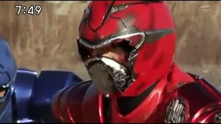Go-Busters Final All Broken Helmet Villanis Enter