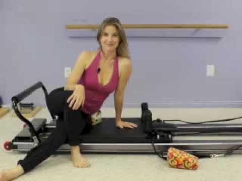 ScolioPilates Exercise: Side-Lying Leg Work on the Pilates Reformer with Karena Thek Lineback