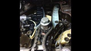 про цепь в двигателе CDA 1,8 и 2,0 tfsi проверка растяжения