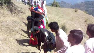 Dance on the way to Devpal,Gartir, Berinag,Uttaranchal