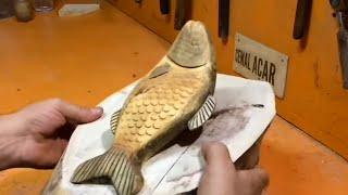 Balıklı Abajur Lamba Yapımı