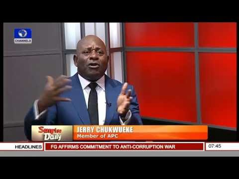 No Ideological Basis For The Sovereign State Of Biafra - Jerry Chukwueke Pt 1