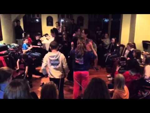 Trad Youth Exchange Set Dancing Upstairs at Harrington's
