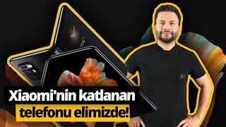 Türkiye'de ilk! - Xiaomi'nin ilk katlanabilir telefonu Mi Mix Fold elimizde!