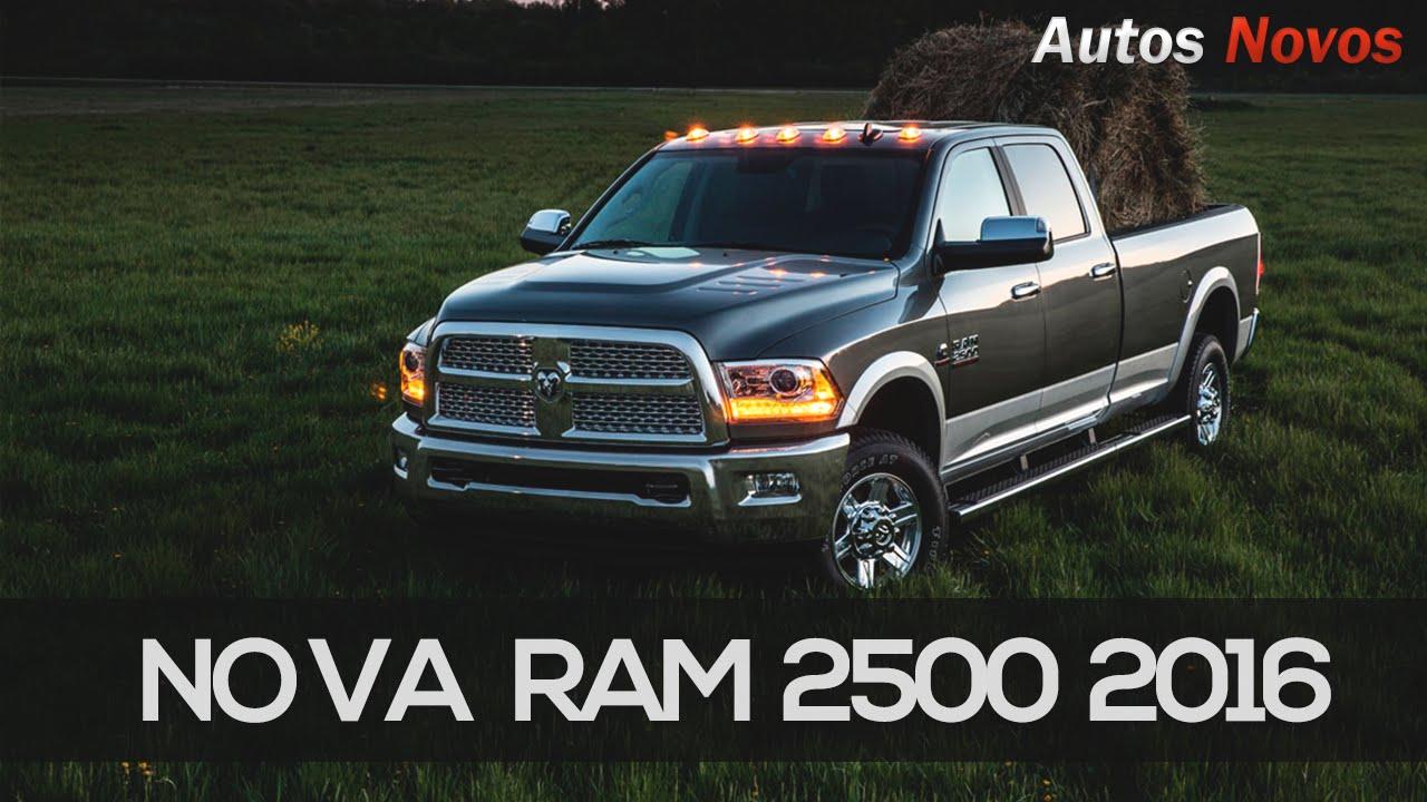 Nova Dodge Ram 2016 - Preço e detalhes - YouTube