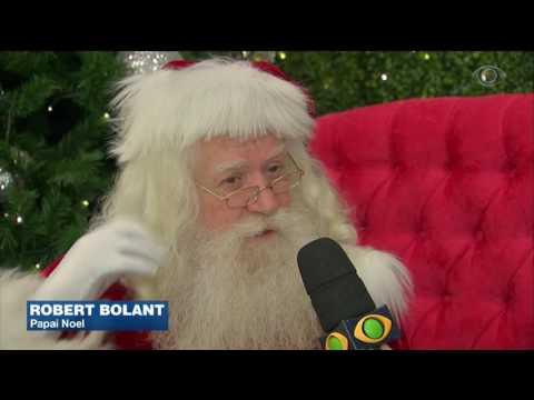 Papai Noel tem agenda lotada às vésperas do natal