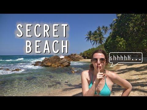 SECRET BEACH MIRISSA (+ Coconut Hill at sunset!) | Sri Lanka Travel