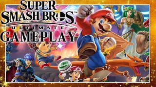 SUPER SMASH BROS. ULTIMATE Gameplay 🎮 IBlali vs. vxSiCxv & Erster Eindruck von Domtendo