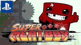Ekhem To było Wybitne Ekhem  Przypadkowe #162: Super Meat Boy  || PS4