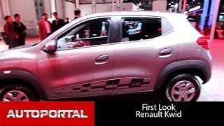 Renault Kwid 1.0L Easy R AMT Auto Expo 2016 - Autoportal