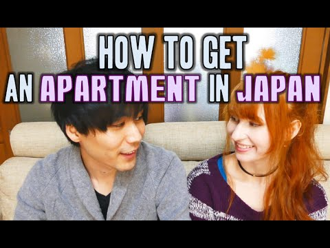 Getting an apartment in Japan! アパート探し!