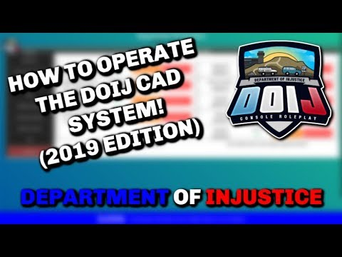 DOIJ Tutorial - HOW TO USE THE CAD AND MDT SYSTEM FOR ROLEPLAY! - (GTA 5 RP)
