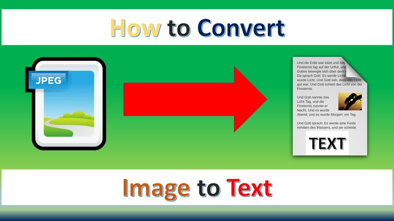 how to convert video into text