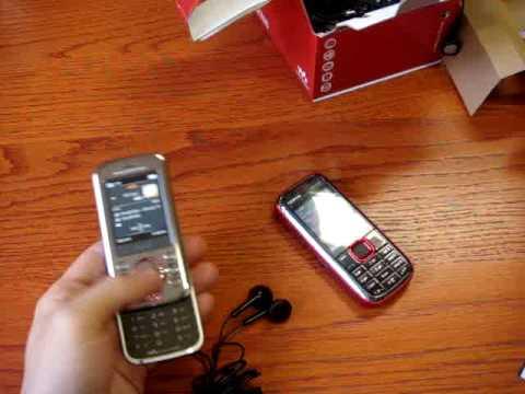 Nokia 5130 vs SonyEricsson W395 (Eng)
