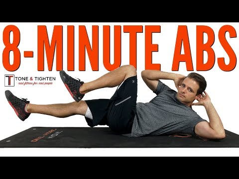 8-Minute Ab Workout Best Exercises To Tighten Your Stomach And Tone Your Six Pack