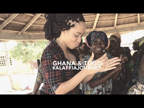 Ghana & Togo the #AlaffiaJourney on How Fair Trade Shea Butter is Made