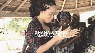 Ghana & Togo the #AlaffiaJourney on How Fair Trade Shea Butter is Made