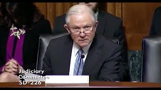 RickWells.US - Sen Jeff Sessions on Open Border Heroin Epidemic Free HD Video