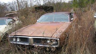 Заброшенный Dodge Charger