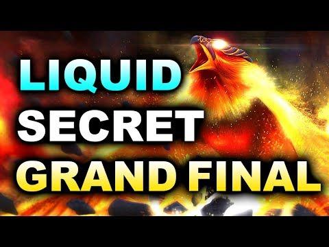LIQUID vs SECRET - GRAND FINAL - MAJOR DREAMLEAGUE 8 DOTA 2