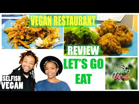 Vegan Restaurant in Birmingham - EARTHS KITCHEN REVIEW - Birmingham UK (2018)