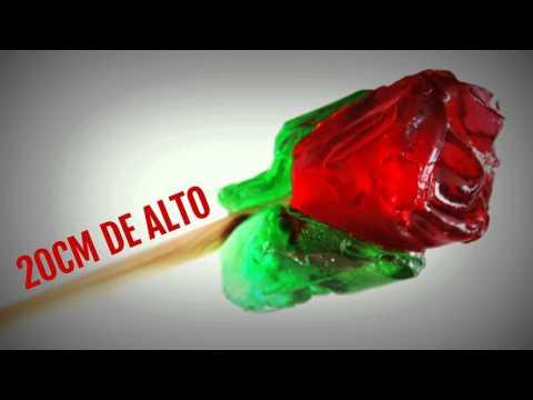 Rosas de caramelo - detalles originales para tus invitados. Detalles de boda y eventos